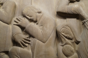 Eric Gill's The Money Changers